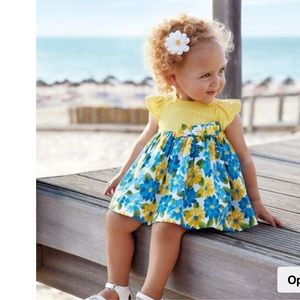MAYORAL**Floral Baby Dress***9 mo. $55